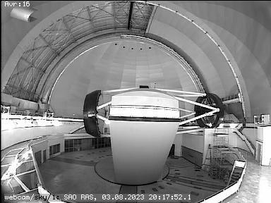 BTA operators InDome TV-camera